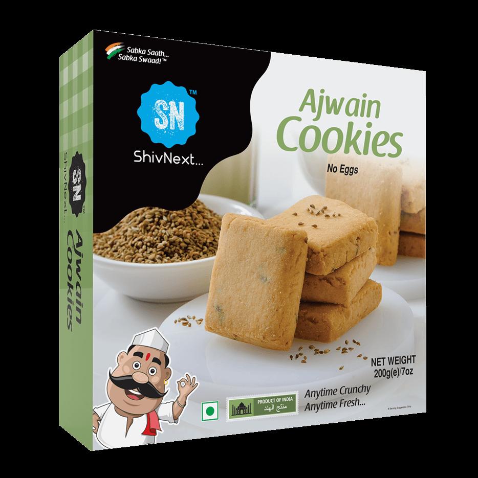 Ajwain Cookies front